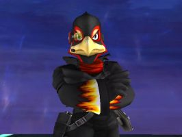Black Flames Falco by kailmanning