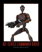 Commando Droid by Onikage108