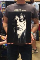 Exorcist canvas by Inked-Alpha