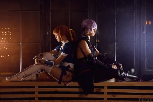 Dead Or Alive 5 | Kasumi and Ayane Cosplay by Dzikan