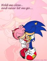 Sonic and Amy by Dark-Jessa