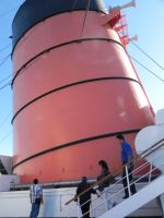 Giant Cunard Funnel by omega-steam