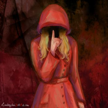 Red Coat by Linndsey