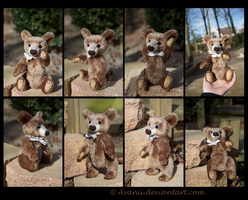 SOLD Plushie: Brandon the Teddy Bear by Avanii