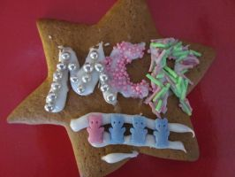 MCR-decorated Ginger Bread by TheHaruyumi