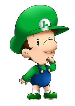 It's Baby Luigi Time! by Nintendrawer