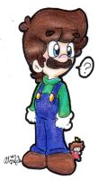 A Wild Luigi Has Appeared by BabyAbbieStar