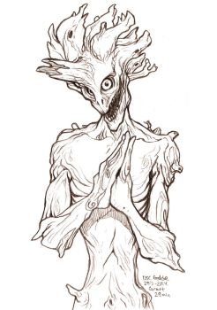 Daily Sketches Groot by fedde