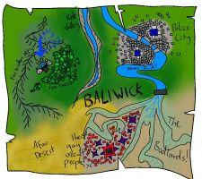 Gooel's map of BALIWICK by HilarityRules