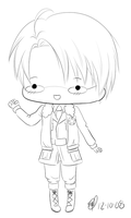 APH - United States chibi by maeoneechan