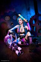 League of Legends - Jinx (LoL) by Mari-Evans