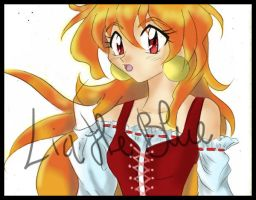 Slayers Lina Inverse by LiaTheblue