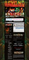 Antipoda Myspace LAyout by GrahamPhisherDotCom