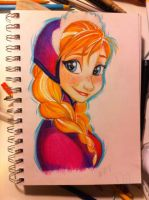 Frozen's Anna by Dapper-Dog