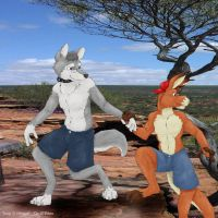 A furry hike by ozkangaroo