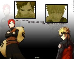 Naruto and Gaara - The Way by Rafaken