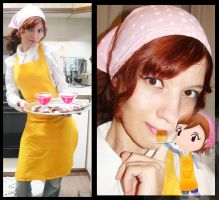 Cooking Mama Cosplay by MishiroMirage