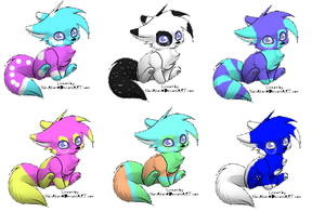 MikkiXGuraena Offspring by Meghan4658890adopts