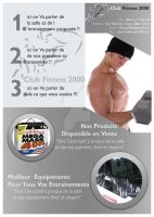 Club Fitness 2000 Flyer 2 by Fnayou
