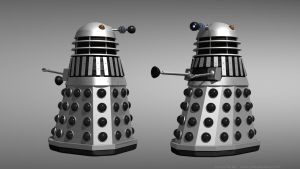 Death to the Daleks - Silver Dalek reimagined by Jim197