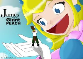 James and the Giant Peach by Ray-Ki