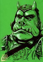 Gamorrean Guard-Commission by Barnlord