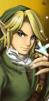 Link portrait by TixieLix