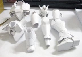 Gundam Request Progress part by PaperBot