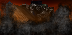 Godzilla's Destructive Rampage by Awesomeness360