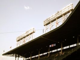 Wrigley Field III by Catchmandkillham