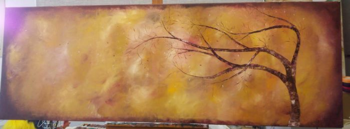 Tree Painting by Friesians9230