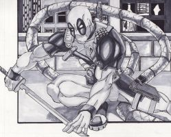 Deadpool Crop by lordmylar06