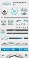 I-Light Iphone UI Elements Set - Retina by ArtoriusGothicus