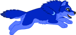 Wuffies - Blue Moon by Goldenwolf