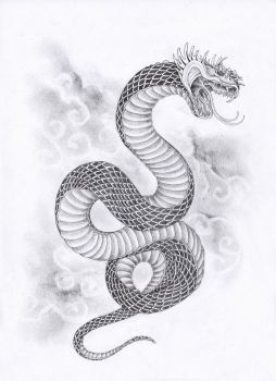 Sky Serpent by leCCio