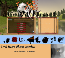 Okami Interface {FH} by xPaper-Gangsta