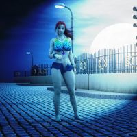 Zombie Hooker by ambient-avalancher