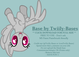 MLP Base 301 - Commish 1 by Twiily-Bases