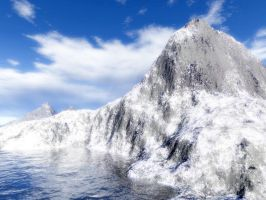 arctic mountain by jimmytc25