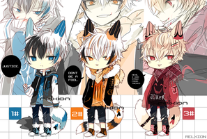 [AUCTION*CLOSED]Lineheart*34 [MAFIA] by Relxion-kun