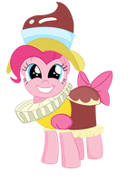 Pinkie Pie Pudding by Dragonfoorm