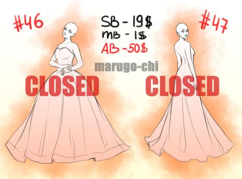 YCH #46 #47 Auction [OPEN] by marugo-chi