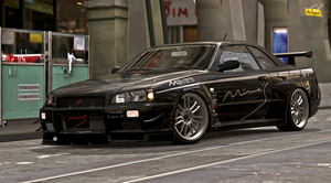 Mine's BNR34 GT-R N1 V-Spec by StrayShadows