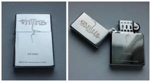 THING - engraved lighter by Piciuu