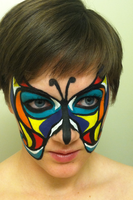 Butterfly Face 3 by throughtherain67