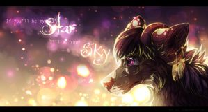 I'll be your SKY by LiaBorderCollie