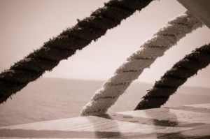 ropes on a boat by keks3