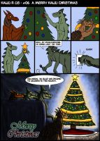 -A Merry kaiju Christmas- by Ravenfire5