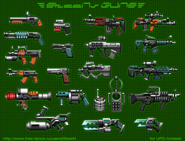 guns by SkeeNLangly
