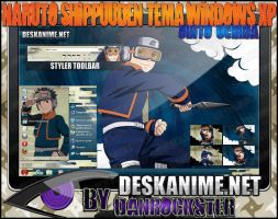 Obito Uchiha Theme Windows XP by Danrockster